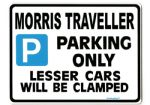 Morris Traveller Large Metal Sign Gift/Present